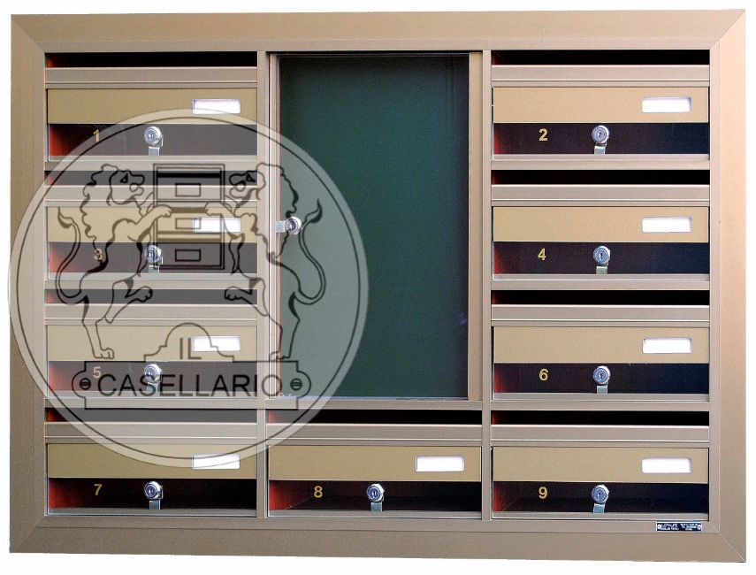 Casellari postali Il Casellario ACP Le Palme - Serie Alluminio25 - IL CASELLARIO / ACP LE PALME ...