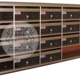 Casellari postali Il Casellario ACP Le Palme - Serie Alluminio29