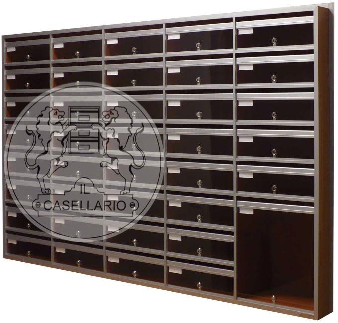 Casellari postali Il Casellario ACP Le Palme - Serie Alluminio34 - IL CASELLARIO / ACP LE PALME ...