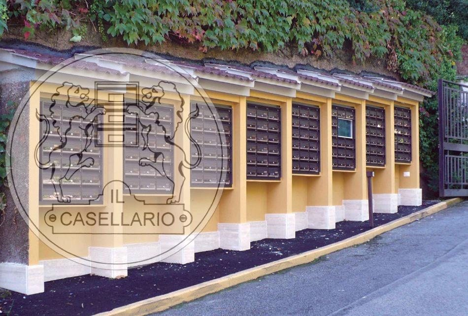 Casellari postali Il Casellario ACP Le Palme - Serie E per esterno - E16 - IL CASELLARIO / ACP ...